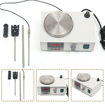 85-2 Magnetic Stirrer Mixer With Hot Plate Heating Hotplate Mixer Lab Grade 220V