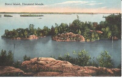 Carte Postale -New York - Thousand Islands - Stave Island