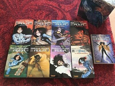 Battle Angel Alita 1-9 in der seltenen Limited Sammlerbox Yukito Kishiro