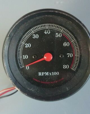 HARLEY OEM Tachometer Rev Counter fits Sportster 1985 to 1992