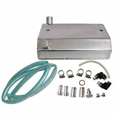 Alloy Aluminium 1L Oil Weilding Catch Can Square Tank Polished