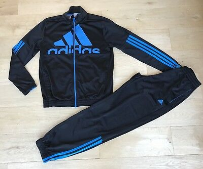 ADIDAS *13-14y BOYS ADIDAS 3 STRIPE JACKET Tracksuit JOGGERS TROUSER 13-14 YEARS