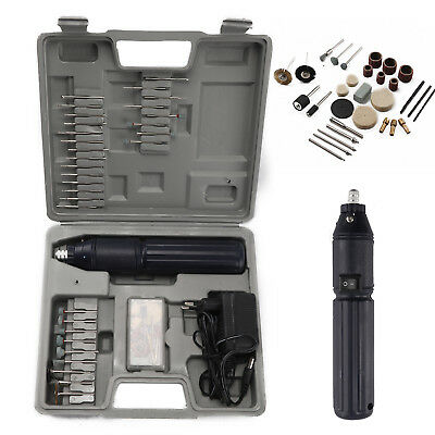 205Pce Cordless Dremel Type Mini Rotary Hobby Drill Tool With Case + Accessories