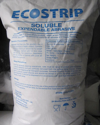 5kg of Bicarb Blasting Soda for restoration Blasting projects. Soda Blast media