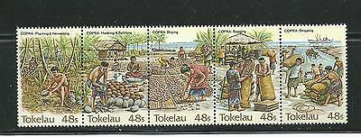 1984 Copra Industry Joined set of  5 Complete MUH/MNH  Sold as per Scan