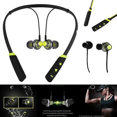 For Nokia 8 Sirocco Wireless Bluetooth Magnetic Neckband Headphones Stereo Sound
