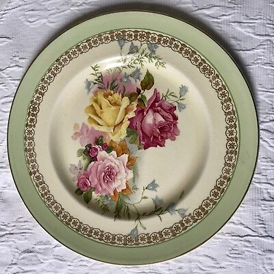 Clarice Cliff Plate Newport Pottery Co England Roses
