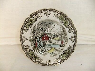 C4 Pottery Johnson Bros The Friendly Village Side Plate 16cm - hand painted 7A7A