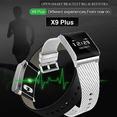 X9 Plus Guarda Heart Rate Monitor di Pressione Sanguigna Fitness SmartWatch IT