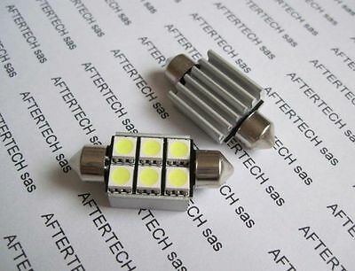 2x NUMBER PLATE 6 LED BULBS WHITE CANBUS FREE ERROR MERCEDES CLK W209 2002-2009