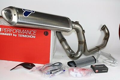 Kit Scarico Racing per Ducati Multistrada 1200 By Termignoni  cod  96459510B