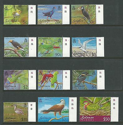 2001 Birds set of 12 Includes $50 Complete MUH/MNH as Issued