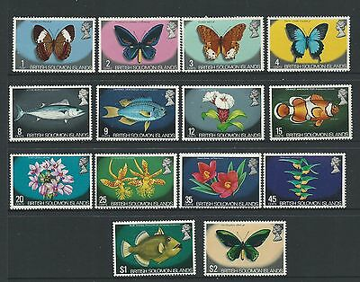 1972 Flora and Fauna Part Set to $2 No 5c Complete MUH/MNH as Issued as per Scan