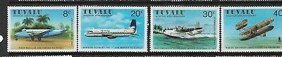1980 Aviation Anniversaries  set 4 Complete MUH/MNH Stamps
