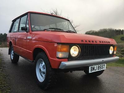 Range Rover early classic 2 door 1978 RARE OPPORTUNITY