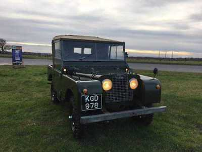 Land Rover Series 1 80 Great Investment