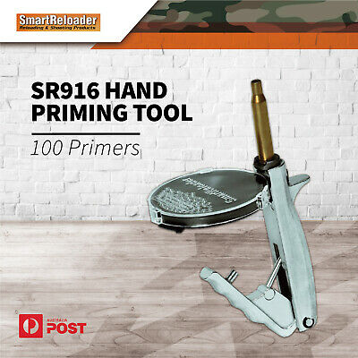 Smartreloader Hand Priming Tool Sr916 Powder Reloading Tools 100 Primers