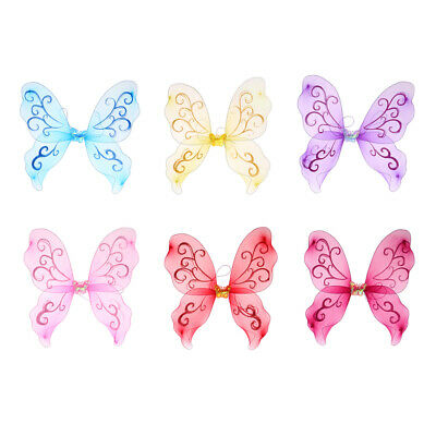 Blesiya Fairy Princess butterfly Wing For Girls Dress Up Kids Party Favors