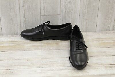 cd8be30622 EASY SPIRIT MOTION Casual Leather Oxfords, Women's Size 8.5B, Black ...
