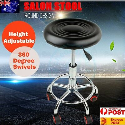 Salon Stool Hairdressing Chair Barber PU Beauty Swivel Hydraulic Lift Massage AU