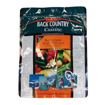 Back Country Back Country Cuisine Freeze Dried Food Beef Teriyaki 1 Serve