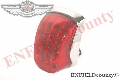 Vespa Lml Star Stella Delux Px 125 150 200 Chrome Led Rear Lamp Tail Light @aus