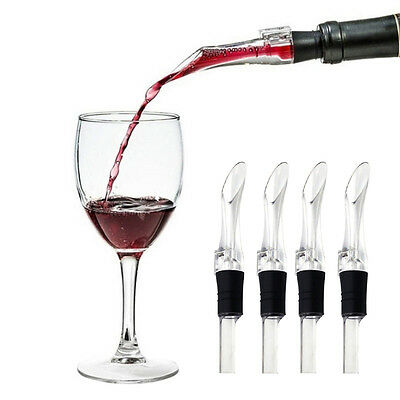 Portable Aerating Spout Accessory Aerator Red Wine Bottle Pourer Decanter New