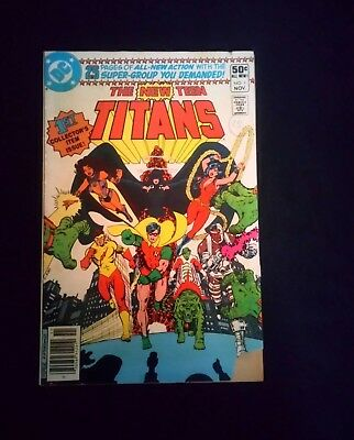 The New Teen Titans Issue # 1 First Collectors Issue Vintage DC Comic (1980)