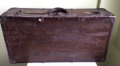 Vintage Antique 50's Terryville Conn Co USA Trunk Barrel Eagle Lock Company