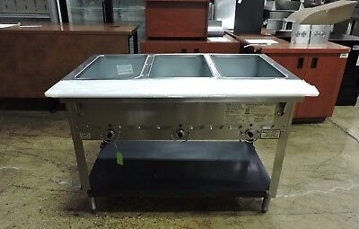 Duke 303 Commercial Aerohot™ 3 Compartment Hot Food Steam Table