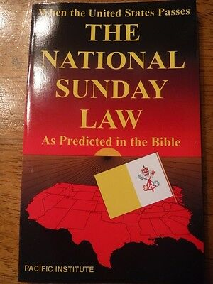 The National Sunday Law As Predicted In The Bible~New World Order!
