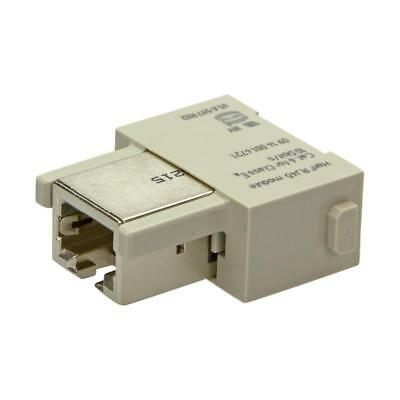 Buchseneinsatz HARTING 09140014721 - Han RJ45 MOD F GENDER CHANGER Cat6/Class E