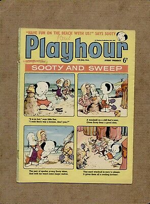 Playhour Children's Comic - 11th July 1964 - Nursery comic