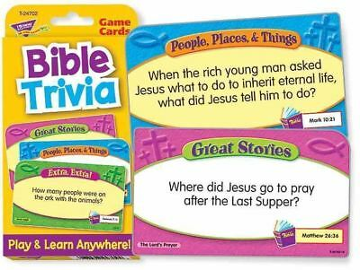 TREND kids childrens Bible trivia Challenge Card RE educational Game