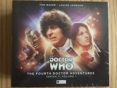 Doctor Who The Fourth Doctor Adventures Series 7 Vol 1 Big Finish