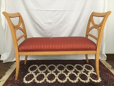 Ethan Allen window seat end of the bed bench stool