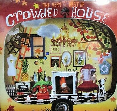 The Very Very Best of Crowded House NEW! CD,19 HIT TRACKS , Alternative/Indie