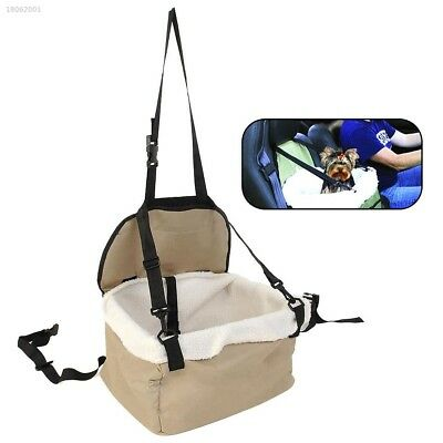 C34B04E NEW Pet Dog Puppy Cat Car Seat Booster Seat Carrier Auto Vehicle Leash