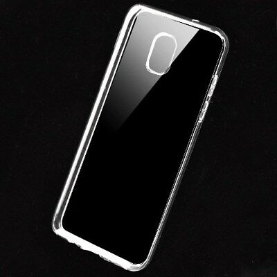Samsung GALAXY J3 2018 Rubber Silicone Hybrid Gel TPU Case Protector Cover Clear