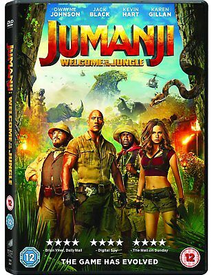 Jumanji welcome to the jungle DVD. Free delivery.