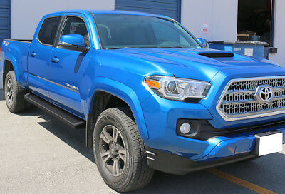 iBoard Black Running Boards Style Fit 05-18 Toyota Tacoma Double Cab/Crew Cab