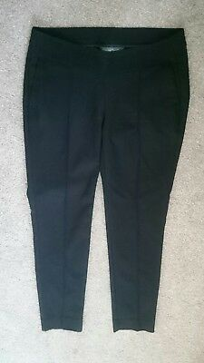 Mothercare Black Maternity Trousers Size 8R