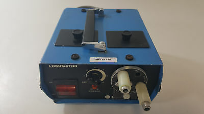 Narco Scientific 52-1118 Fiber Optic Luminator - 52-1211 Endoscopy Illuminator