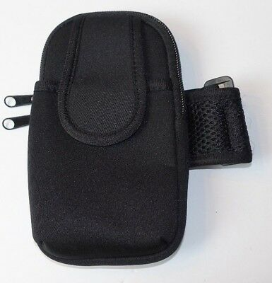 Sports Gym Armband Case Arm Holder For iPhone Samsung Large Cell Phone