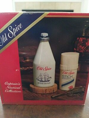 Vintage Old Spice Captains Nautical Collection
