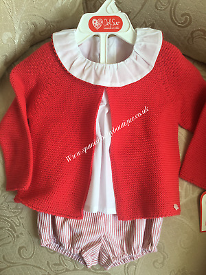 baby unisex del sur Spanish Outfit set 12 -18 months BNWT Romany