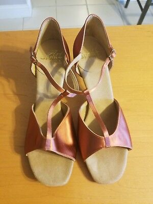 Professional women's ballroom dance shoes  Size 7UK, Size 9 1/2-10USA