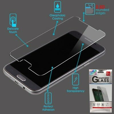 Samsung Galaxy J3 2018 Express Shock Tempered Glass Screen Protector Cover Guard