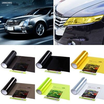 C4AD6A5 30CM x 120CM Car Truck Motor Lamp Light Headlight Taillight Recolor Film