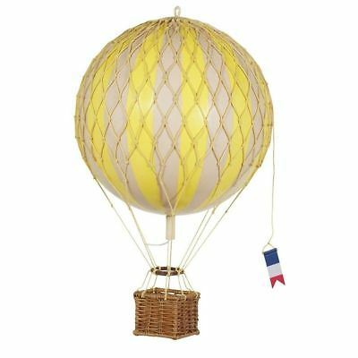 Authentic Models AP161Y,  Travels Light Hot Air Balloon Model, Yellow